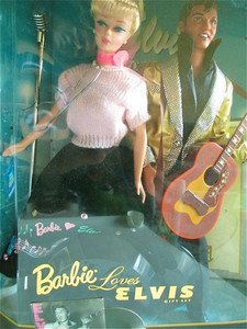 Barbie and Elvis, sittin' in a tree.... (never opened!)