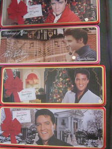 Got an Elvis fan in your family? Drop some cookies in some tins and you've got some Christmas shopping already done. Bing, bang, boom!