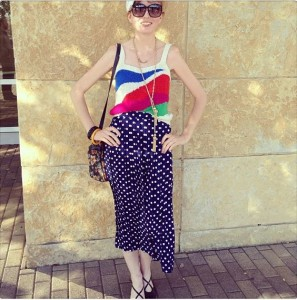 One of our favorite #vintage shoppers, La Fashion Snobhttp://www.lafashionsnob.com/
