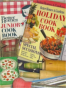Holiday cookbooks.